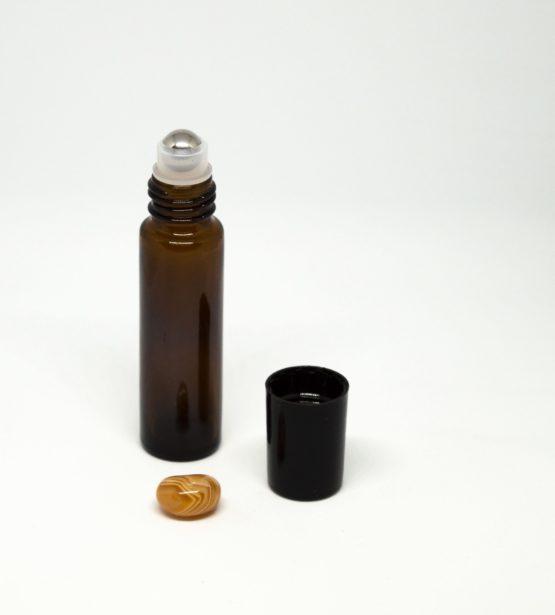 10 ml roll-on barna folyadéküveg