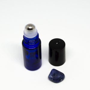 5 ml roll-on kék folyadéküveg